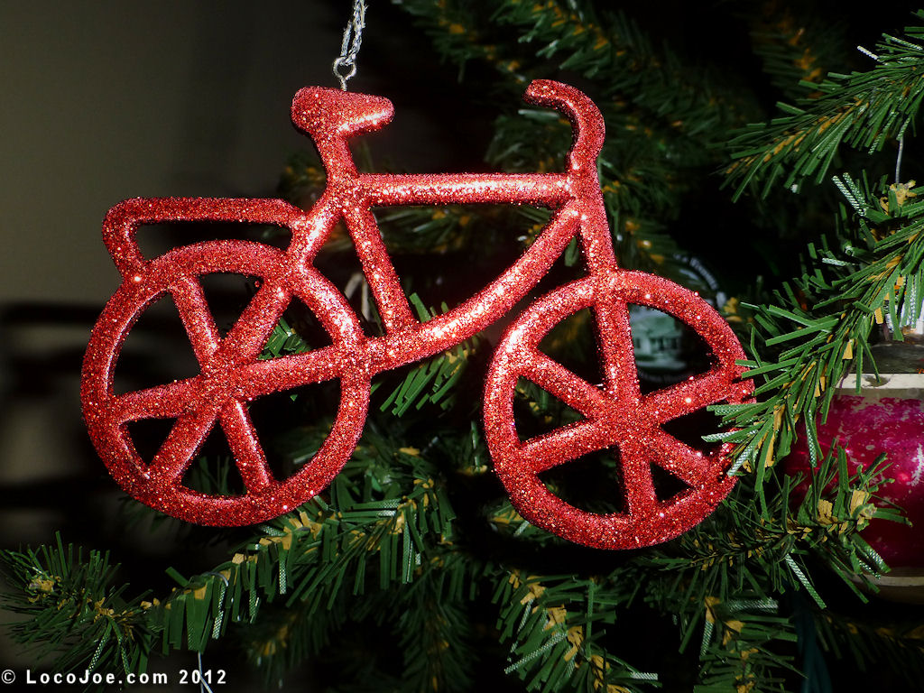 Our Bicycle Christmas Ornaments & Decorations | Our Bicycle Scrapbook