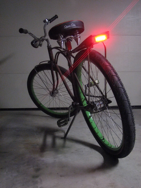 Bicycle Tail Light Frame Mount