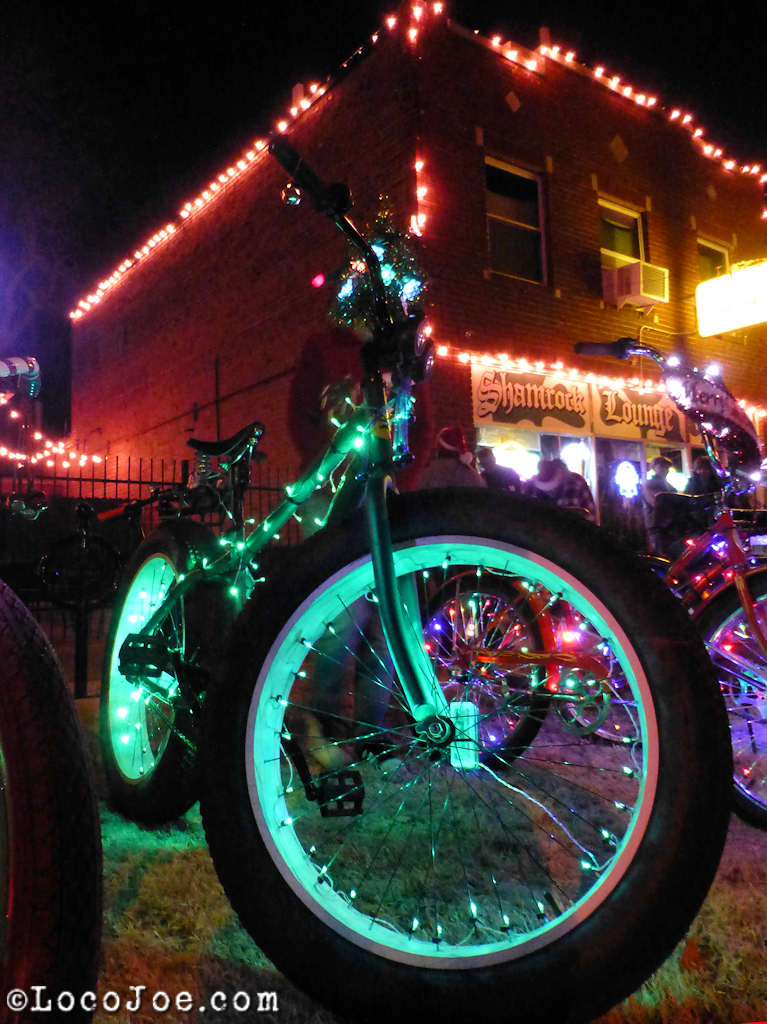 The coasters christmas light cruise rat rod bikes - Lighted coaster ...