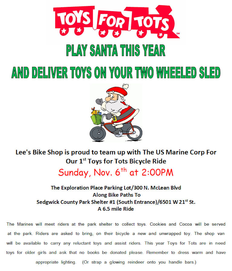 Announcement Email Sample Toys For Tots : Toys for tots bicycle ride photos added rat rod bikes