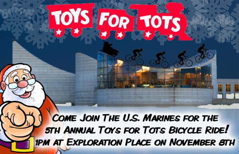 Bikes Toys For Tots Or Bust : Wichita cycling news coasters bicycle club