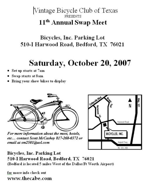 swap meet texas october
