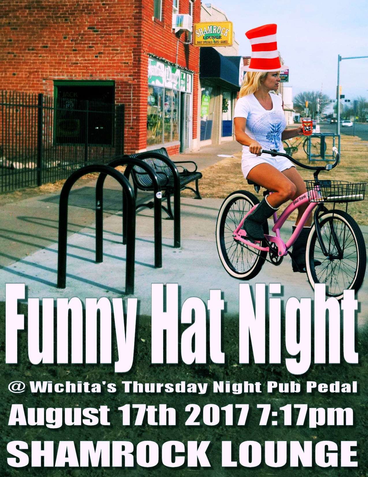 Funny Hat Night @ Shamrock Lounge | Wichita | Kansas | United States