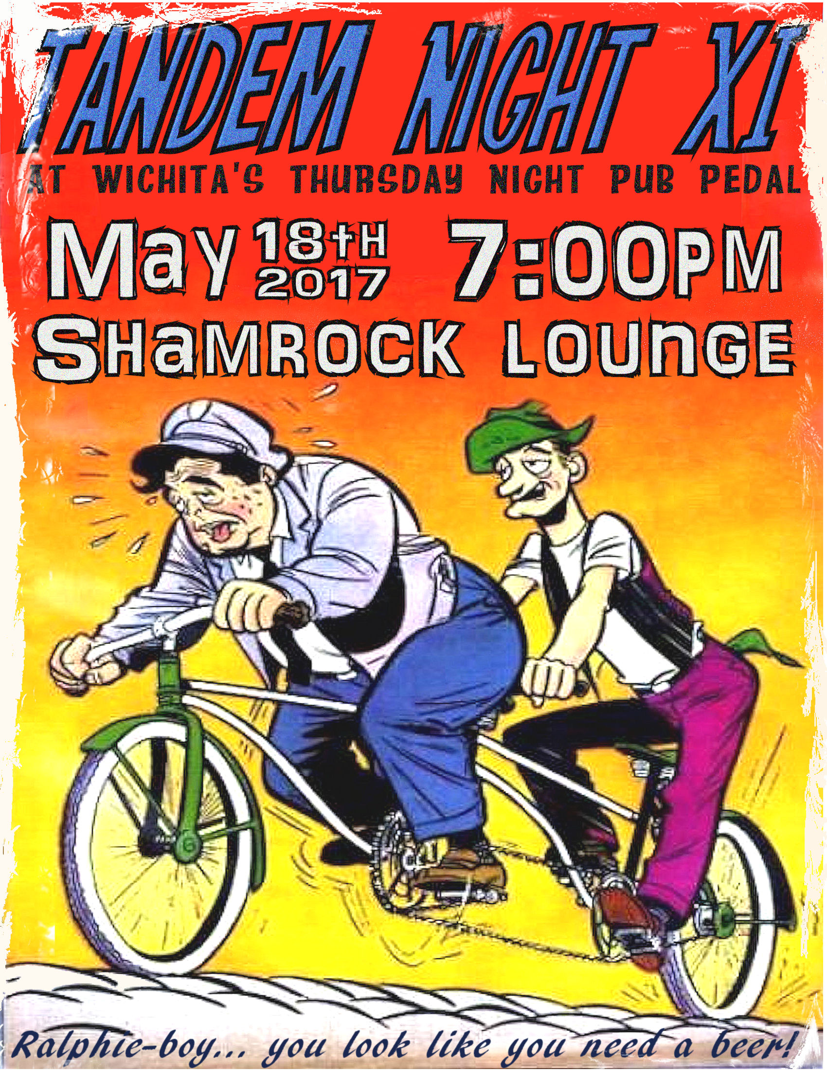 Tandem Night XI @ Shamrock Lounge | Wichita | Kansas | United States
