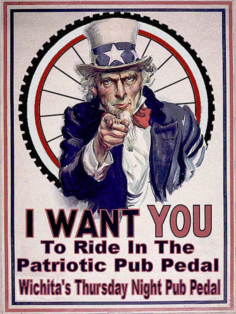 Patriotic Pub Pedal @ Shamrock Lounge | Wichita | Kansas | United States