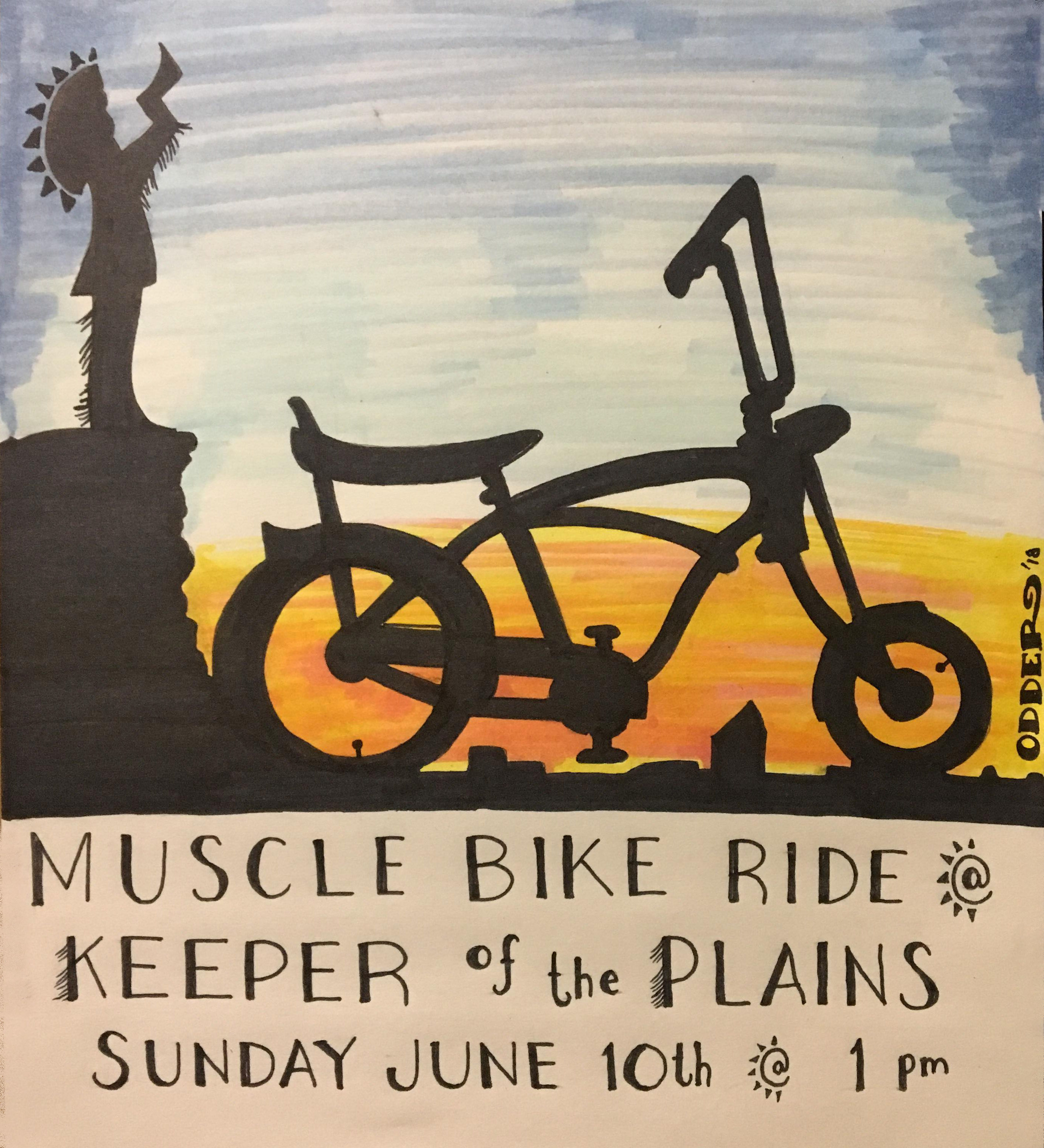 Muscle Bike RIde @ Keeper of the Plains | Wichita | Kansas | United States
