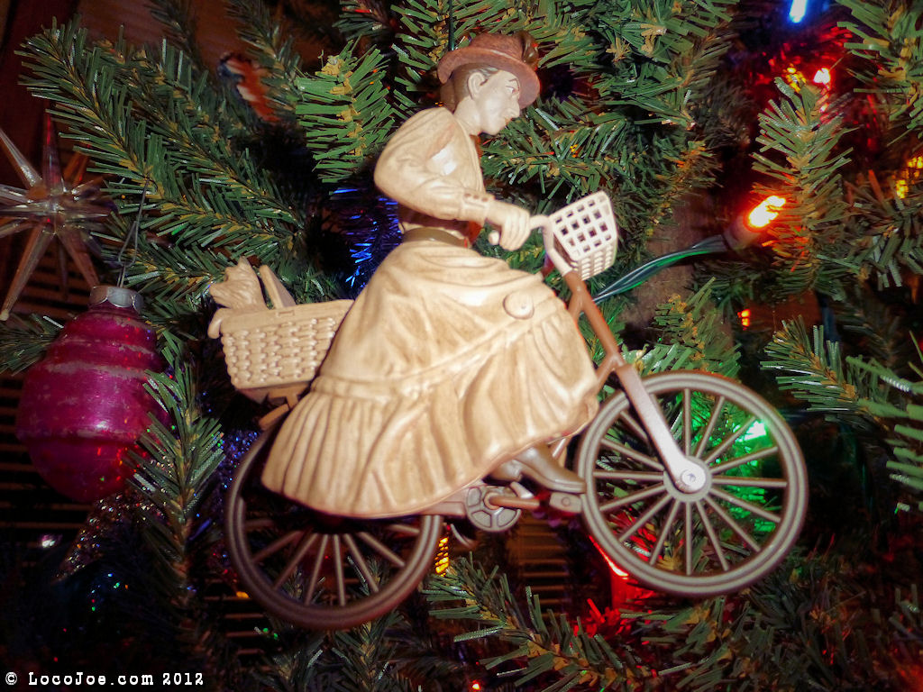 Our Bicycle Christmas Ornaments Decorations Locojoe Bikes
